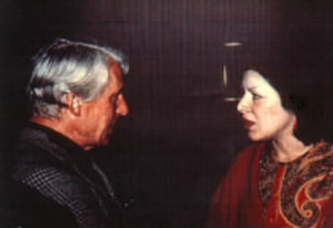 Lois DiCosola with DeKooning