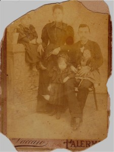 Picture of my Filangeri relatives, taken at the turn of the 20th century